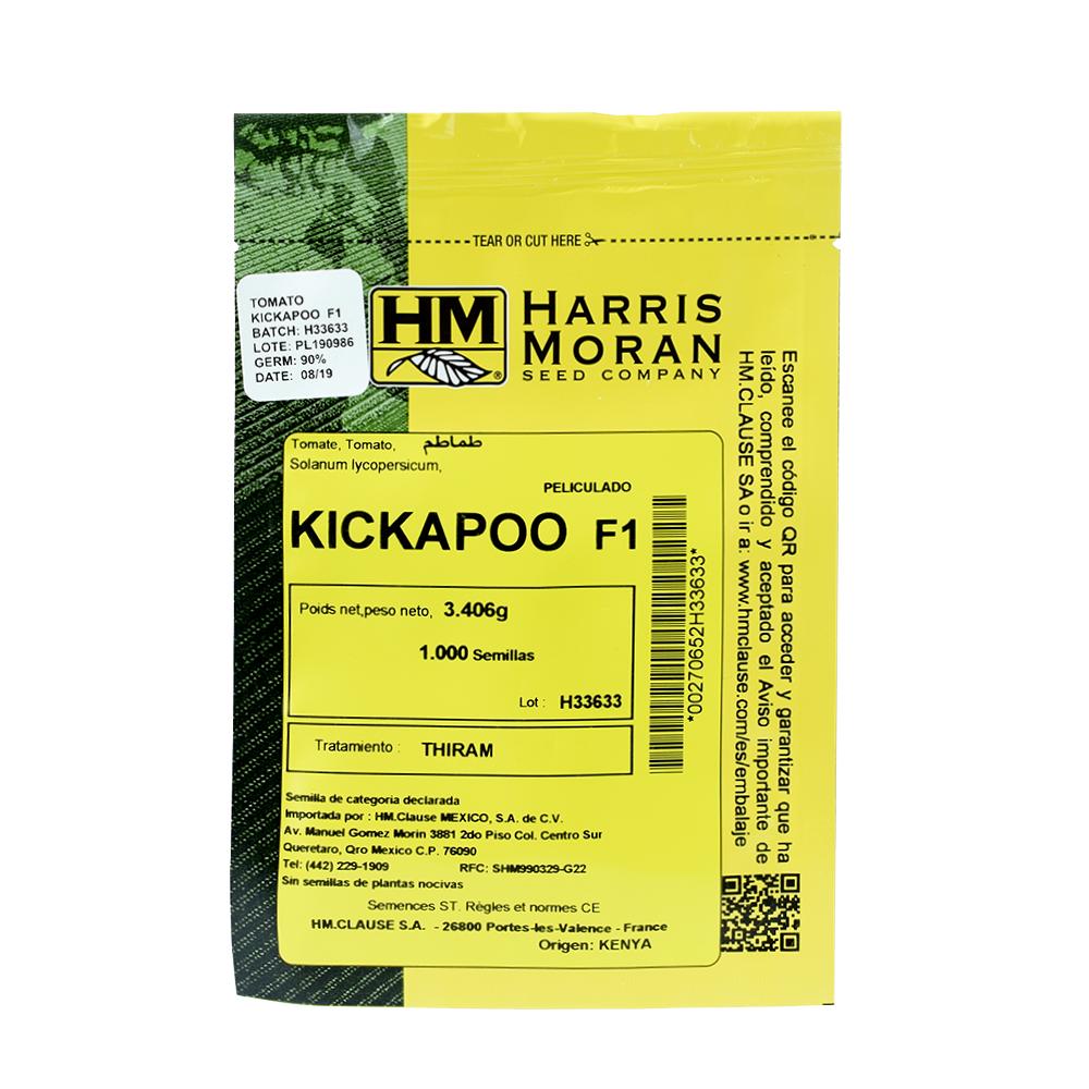 Tomate Híbrido Indeterminado Kickapoo F1 Harris Moran
