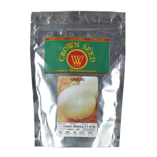 Cebolla Híbrida Crown Blanca Crown Seed